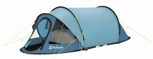 Easy-to-use tent
