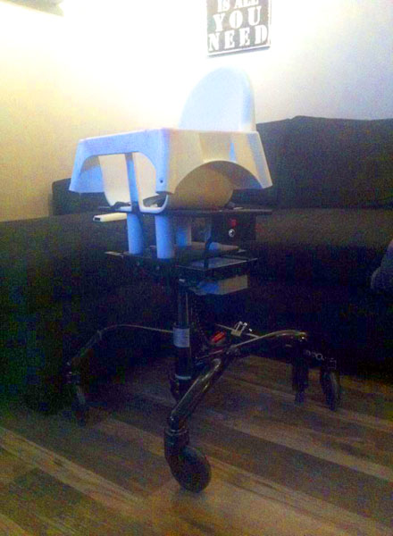 Modified highchair