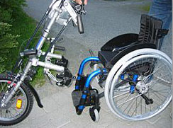 Stricker and wheelchair (Photo from www.woodstar.se)