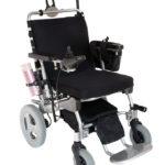 Fällbar elektrisk rullstol e-Throne