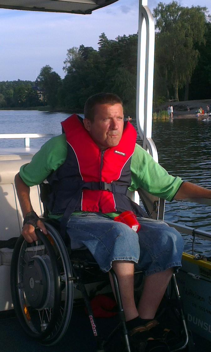 Magnus på båt